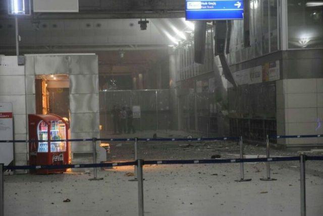 Imagem mostra como ficou a entrada do terminal