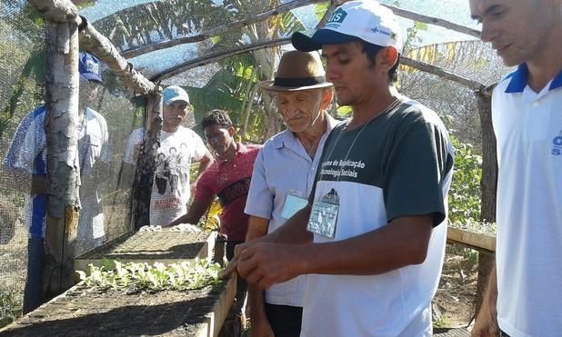 Produtores rurais de Oeiras participam de capacitação em hortas orgânicas 1