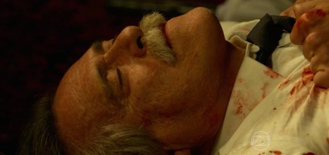 A Regra do Jogo: Quatro atores gravam desfecho do assassinato de Gibson 9