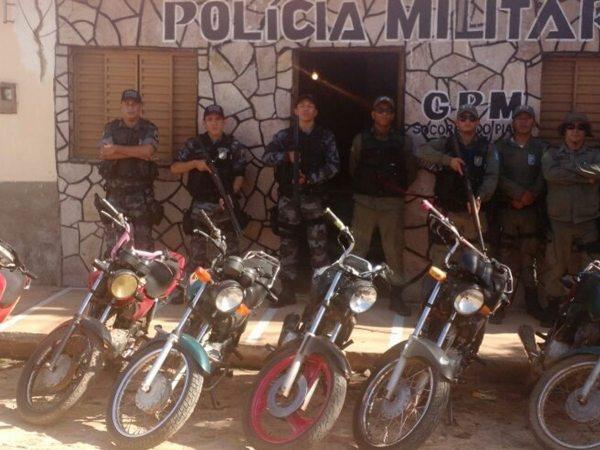 Polícia Militar do município de Simplício Mendes recupera 19 motos no mês de janeiro 2