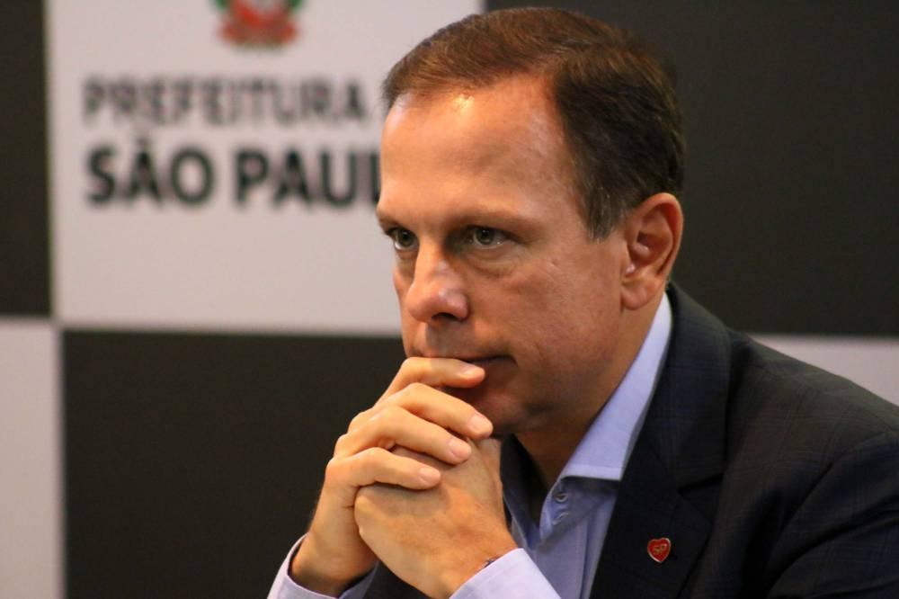 Bolsonaro se exalta ao ser criticado por Dória em reunião 1