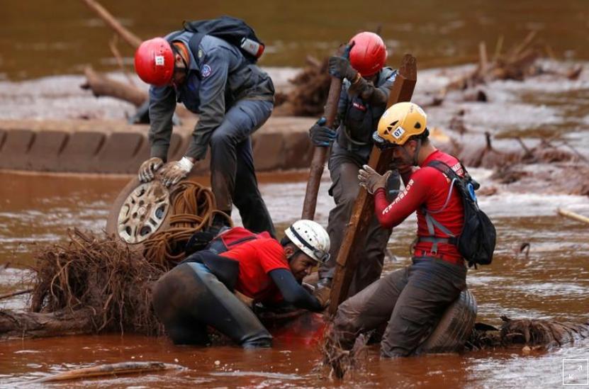 Chega a 142 número de mortes confirmadas em rompimento de barragem em Brumadinho 1