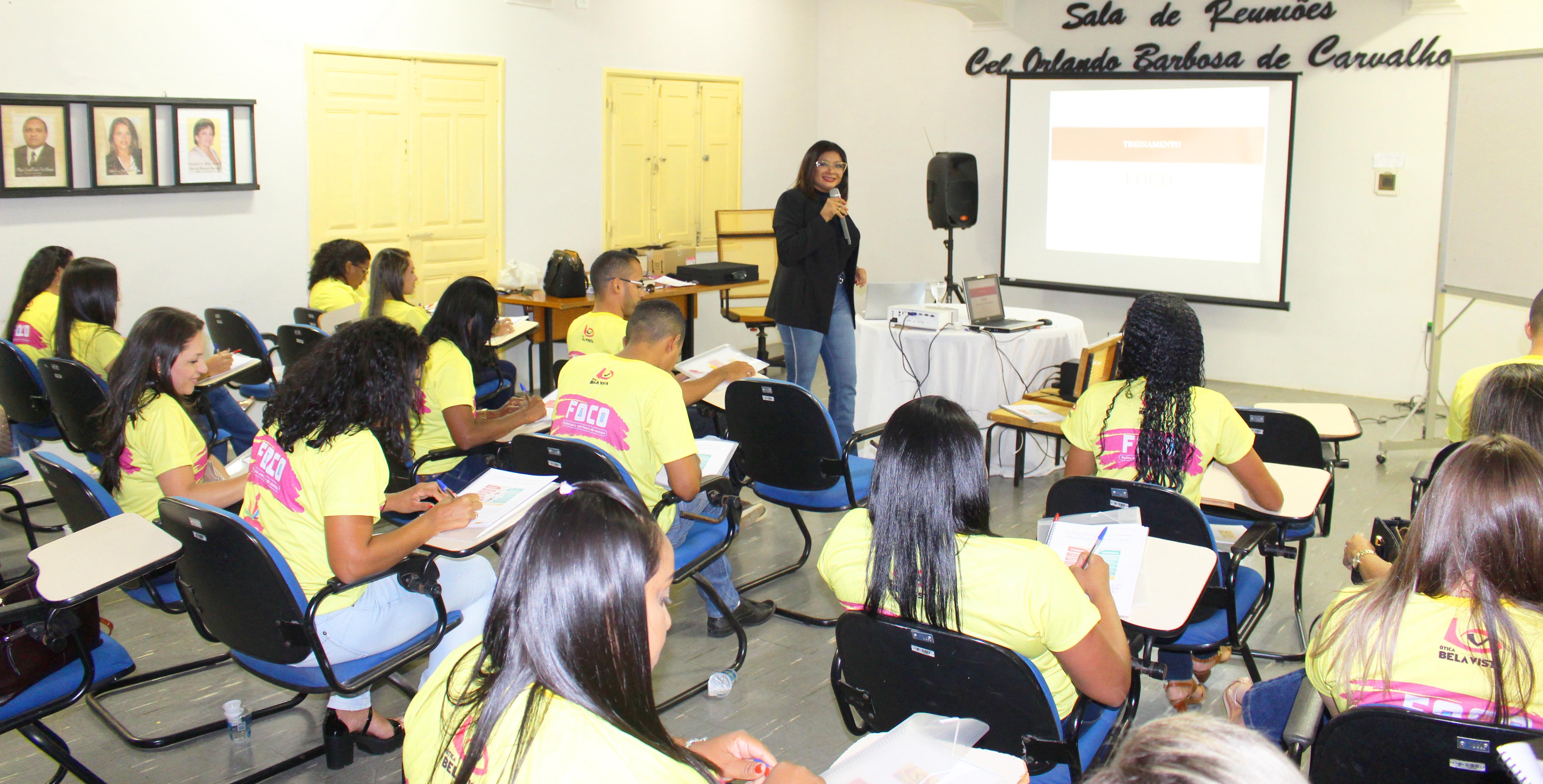 Grupo Ótica Bela Vista realiza treinamento com colaboradores. 2