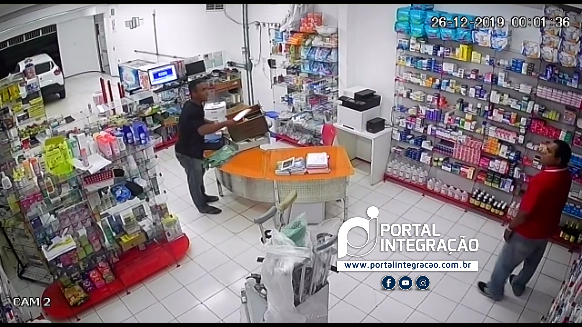 Farmácia 24horas é alvo de assaltante em Oeiras 4