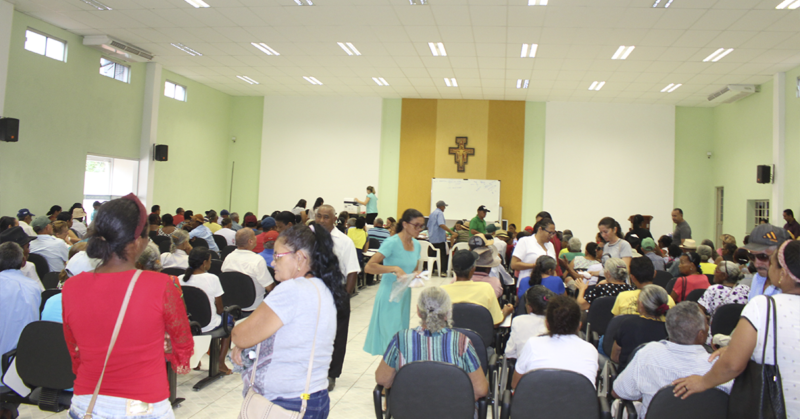 Hospital Regional de Oeiras faz triagens com 500 pessoas para mutirão de Cirurgias de Cataratas 3