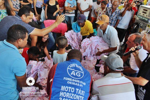 Posto Leme realiza sorteio de uma Moto Fan 160 0 km e outros prêmios em seu 2° aniversário ; Confira os ganhadores 13