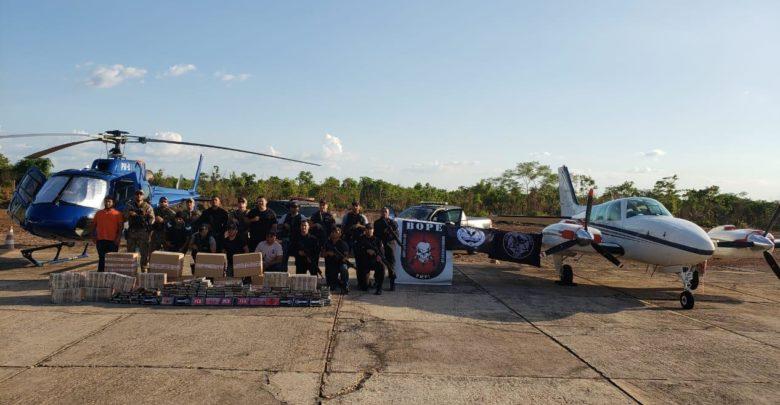Operação apreende uma tonelada de cocaína, duas aeronaves e prende sete pessoas em Teresina 1