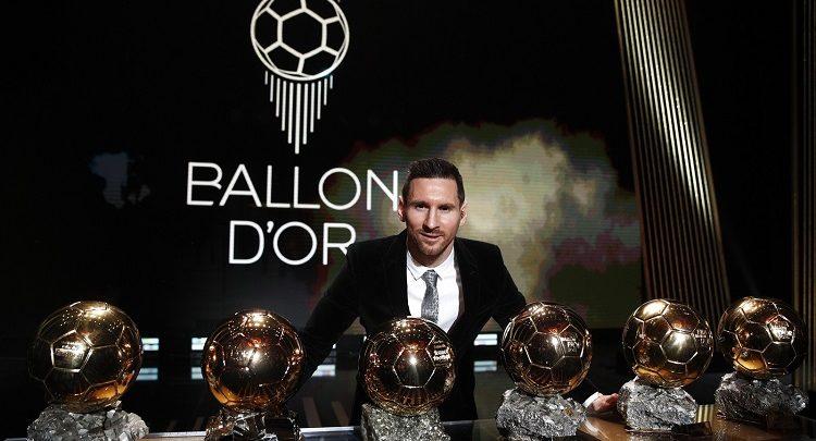 Messi conquista Bola de Ouro pela sexta vez e se isola como maior vencedor 1