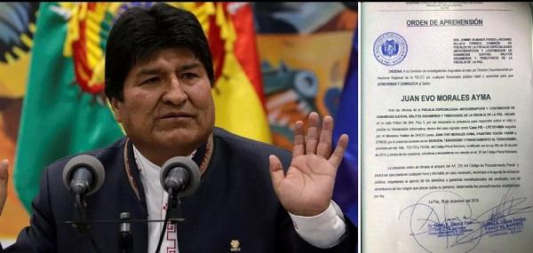 Ministério Público da Bolívia emite ordem de prisão contra Evo Morales por 'terrorismo' 1
