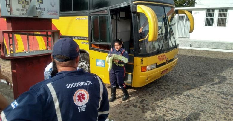 Mãe dá à luz dentro de ônibus enquanto ia para consulta de rotina no Piauí 1