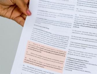 Medida impede que polícia divulgue nomes e imagens de presos 1
