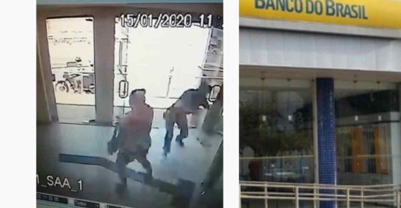 Mulher é atingida por tiro durante assalto a banco no Piauí 1