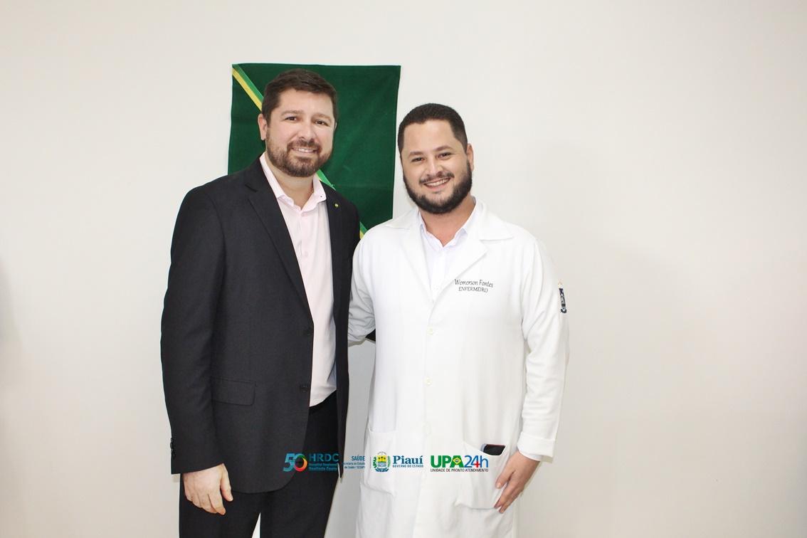Governador do Piauí inaugura reforma do Ambulatório do Hospital Regional de Oeiras 8