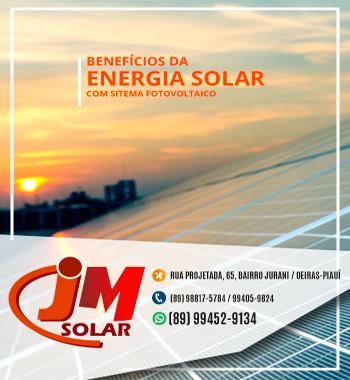 Empresa JM SOLAR apresenta soluções econômicas e sustentáveis 1