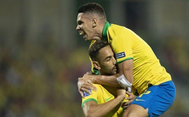 Brasil atropela Argentina e garante vaga para olimpíada de Tóquio 2020. 1