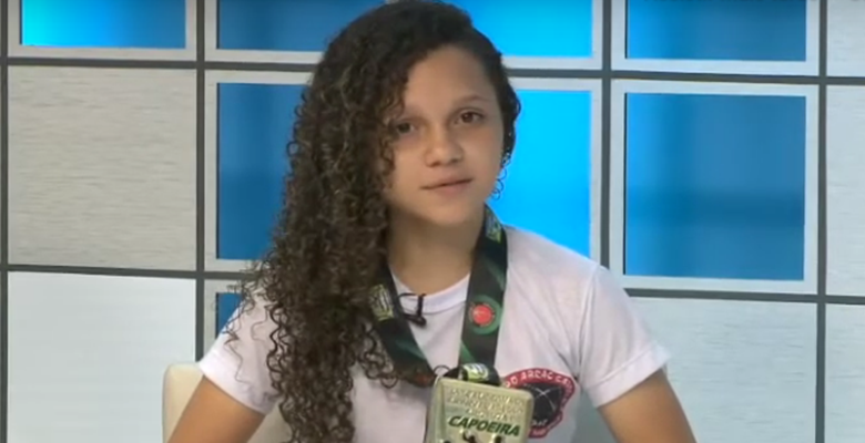 Adolescente de Água Branca (PI) vence mundial de capoeira 1