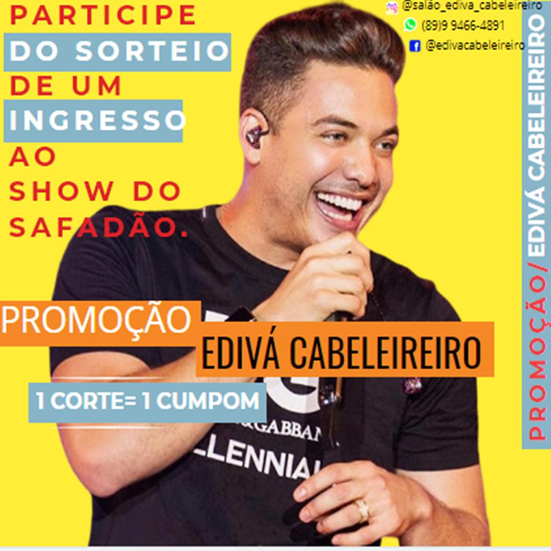 Sorteio de 1 ingresso  ao show do Wesley Safadão em Oeiras. Saiba detalhes! 2