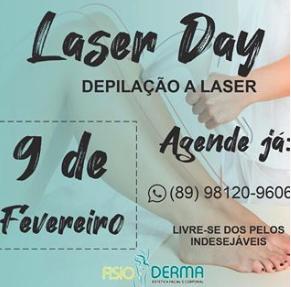 FisioDerma começará a trabalhar com depilação a laser a partir do dia 09 de fevereiro; Confira os benefícios e agende a sua depilação 1