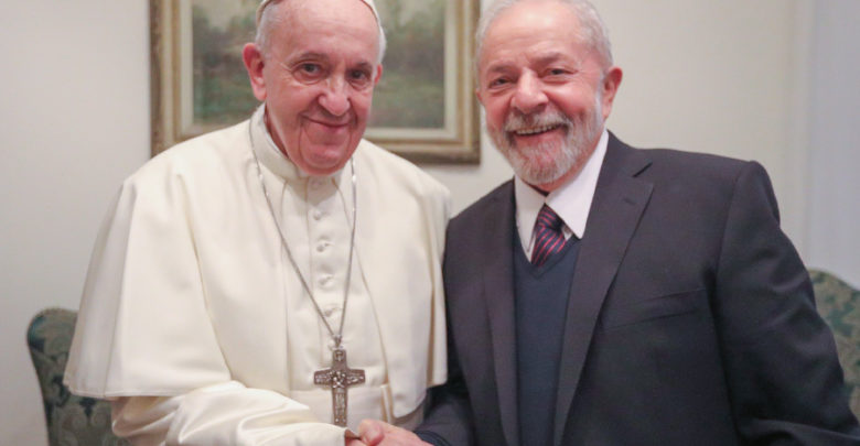Papa Francisco se encontra com Lula no Vaticano 1