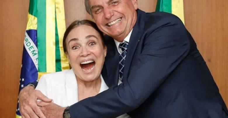 Regina Duarte se manifesta a favor de Bolsonaro sobre a quarentena 1