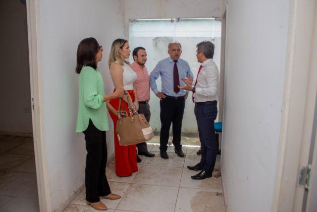 Visita técnica busca restabelecimento da sede própria da OAB/ Oeiras 9