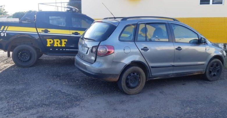 PRF recupera carro que havia sido roubado há 10 anos na BR 316 1
