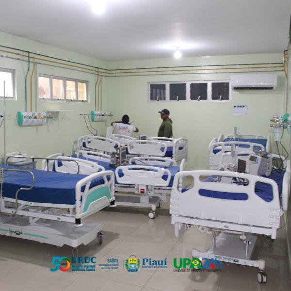 Hospital Regional de Oeiras receberá seis novos leitos de UTI 2