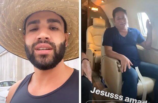Avião com Leonardo e Gusttavo Lima faz pouso de emergência 1