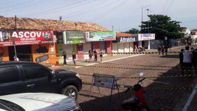 Prefeitura de Oeiras interdita a principal rua do centro comercial 5
