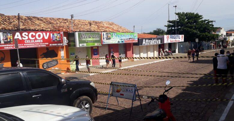 Prefeitura de Oeiras interdita a principal rua do centro comercial 1