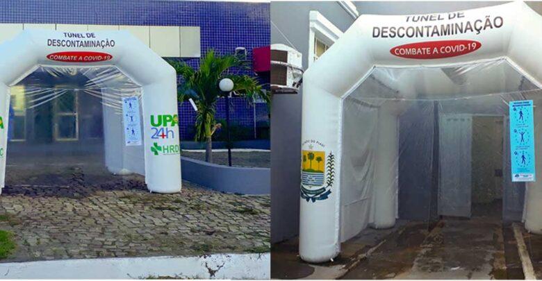 Hospital Regional de Oeiras e UPA/24h recebem túneis de descontaminação 1