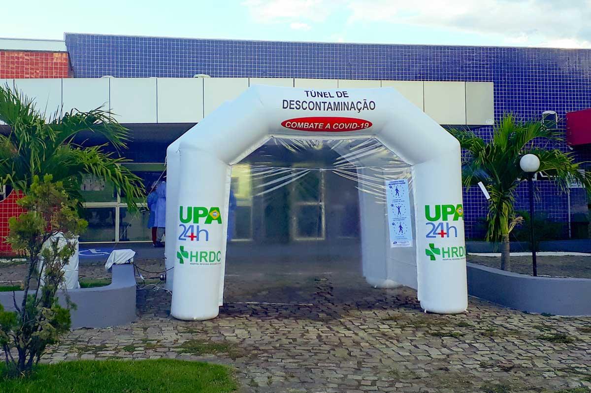 Hospital Regional de Oeiras e UPA/24h recebem túneis de descontaminação 2