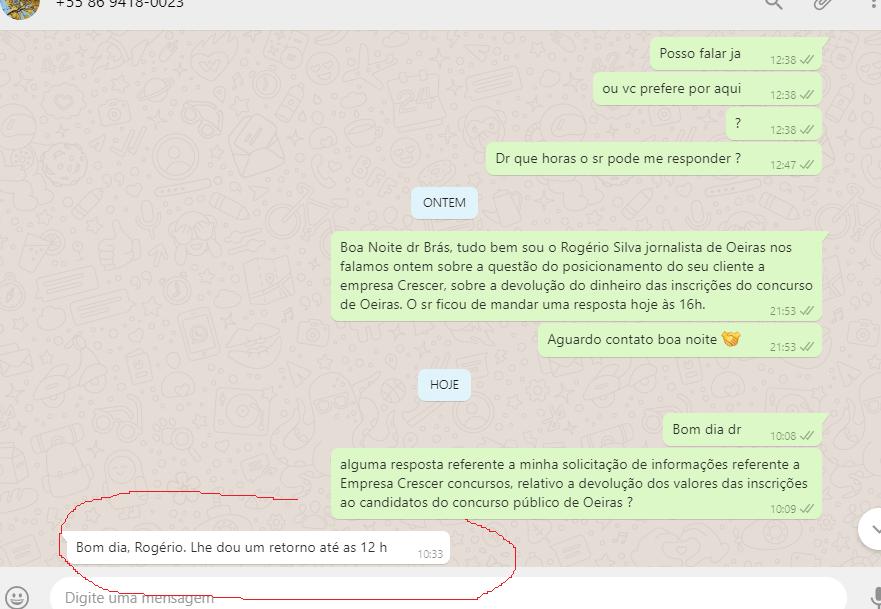 Empresa não devolve dinheiro de inscrição de concurso público cancelado em Oeiras 3