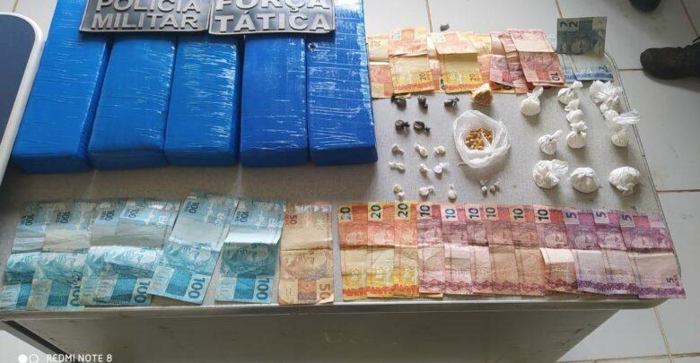 Grande quantidade de drogas é apreendida na região de Oeiras 1