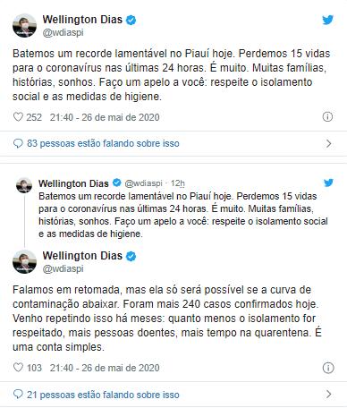 Governador fala em prorrogar quarentena após recorde de mortes no Piauí 2