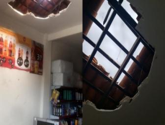 Ladrões assaltam mercadinho em Oeiras 1