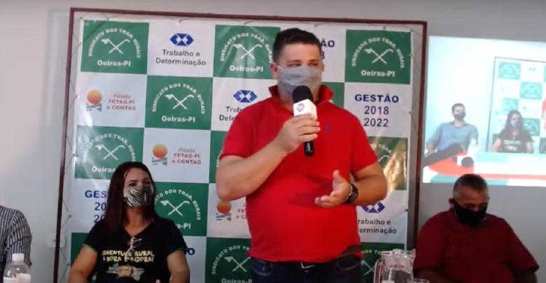 Gilmar Fontes se ausenta do Sindicato dos Trabalhadores Rurais para pré-candidatura a vereador 1
