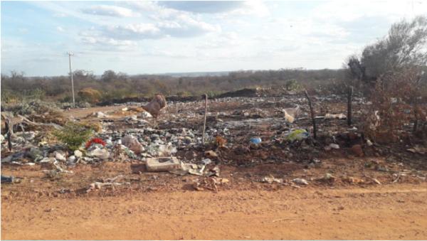 Justiça determina suspensão do lixão na zona urbana de Santa Rosa do Piauí 1