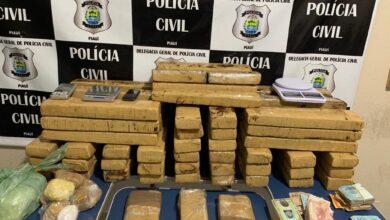 Polícia Civil apreende grande quantidade de drogas e dinheiro na zona rural de Picos 5