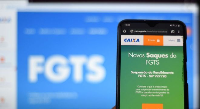 Caixa libera consulta ao saque emergencial do FGTS 1