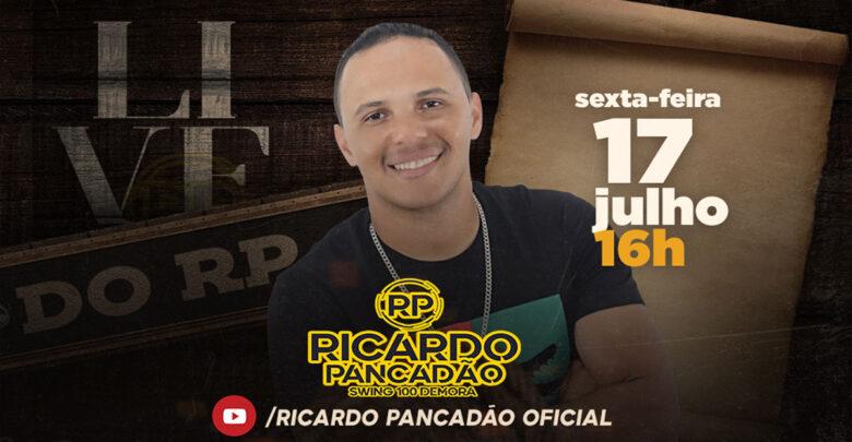 Hoje tem LIVE do Ricardo Pancadão 1