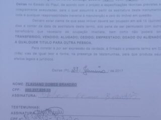 Morador tem casa destruída sob ordem da prefeitura de Oeiras 5