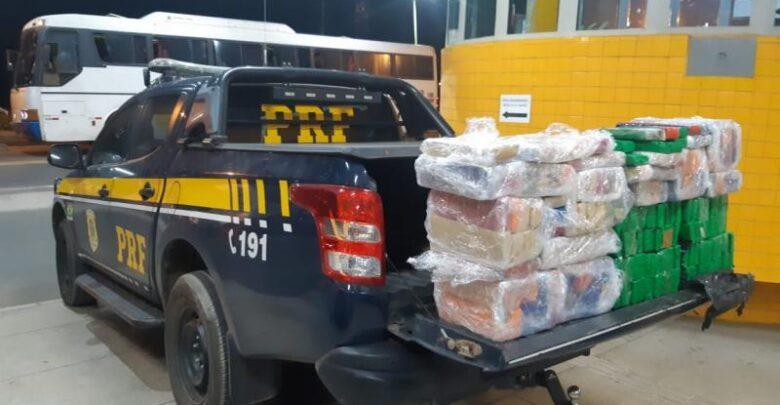 Dois suspeitos foram presos com 150 quilos de maconha em Floriano 1