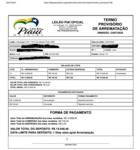Criminosos tentam aplicar golpe em empresário de Oeiras através do whatsapp 3
