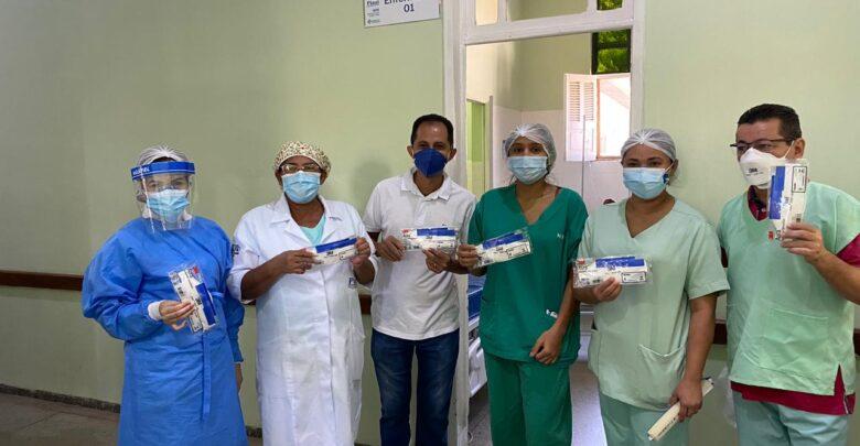 Coren-PI doa pela segunda vez máscaras de proteção para o Hospital Regional de Oeiras 1