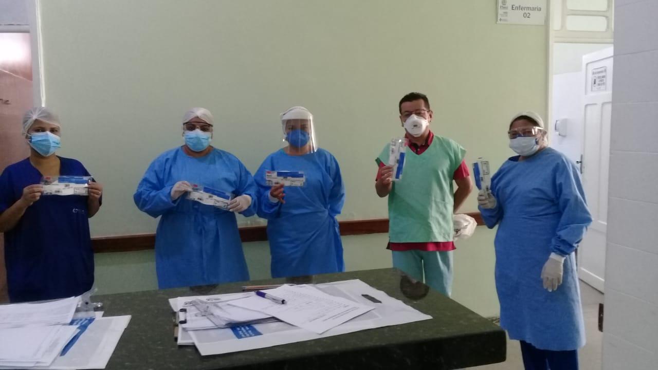 Coren-PI doa pela segunda vez máscaras de proteção para o Hospital Regional de Oeiras 2
