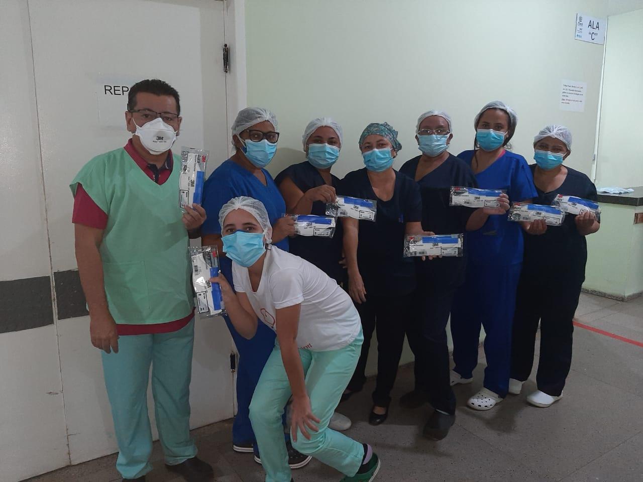 Coren-PI doa pela segunda vez máscaras de proteção para o Hospital Regional de Oeiras 3