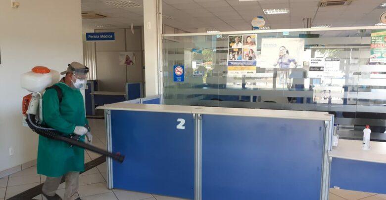 INSS sinaliza e sanitiza agências no Piauí para possível reabertura ao público no dia 13 1