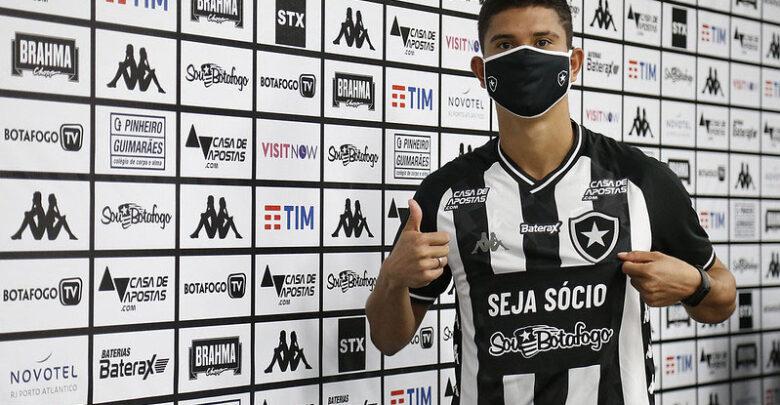 Lateral piauiense Kevin é apresentado como novo reforço do Botafogo 1
