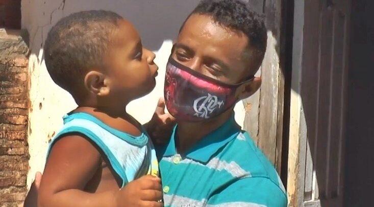 Criança abandonada pela mãe mora com o pai e precisa de ajuda no Piauí 1
